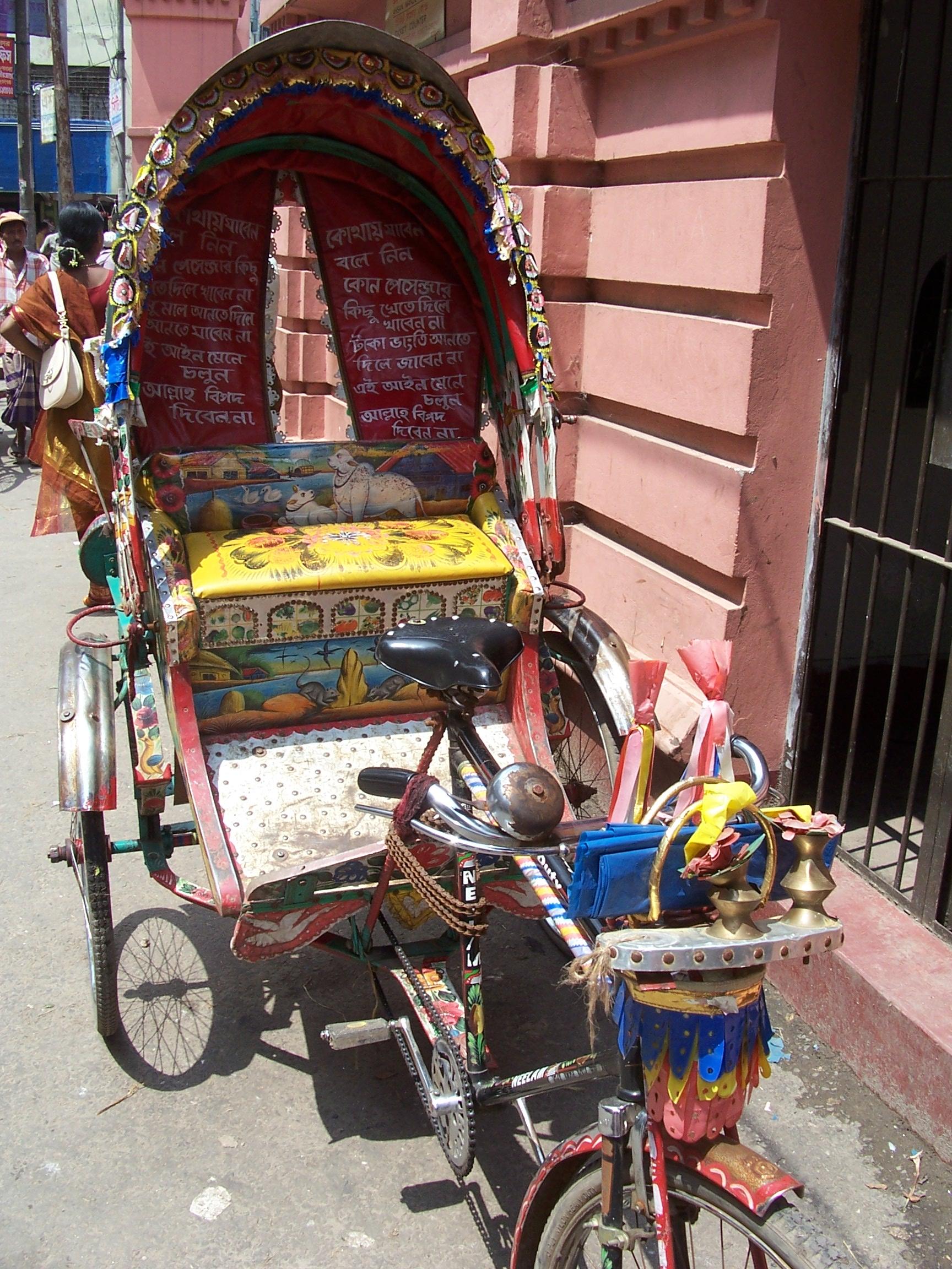 A bike cart