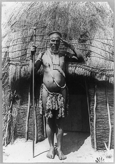 LOC Zulu Chief Photo