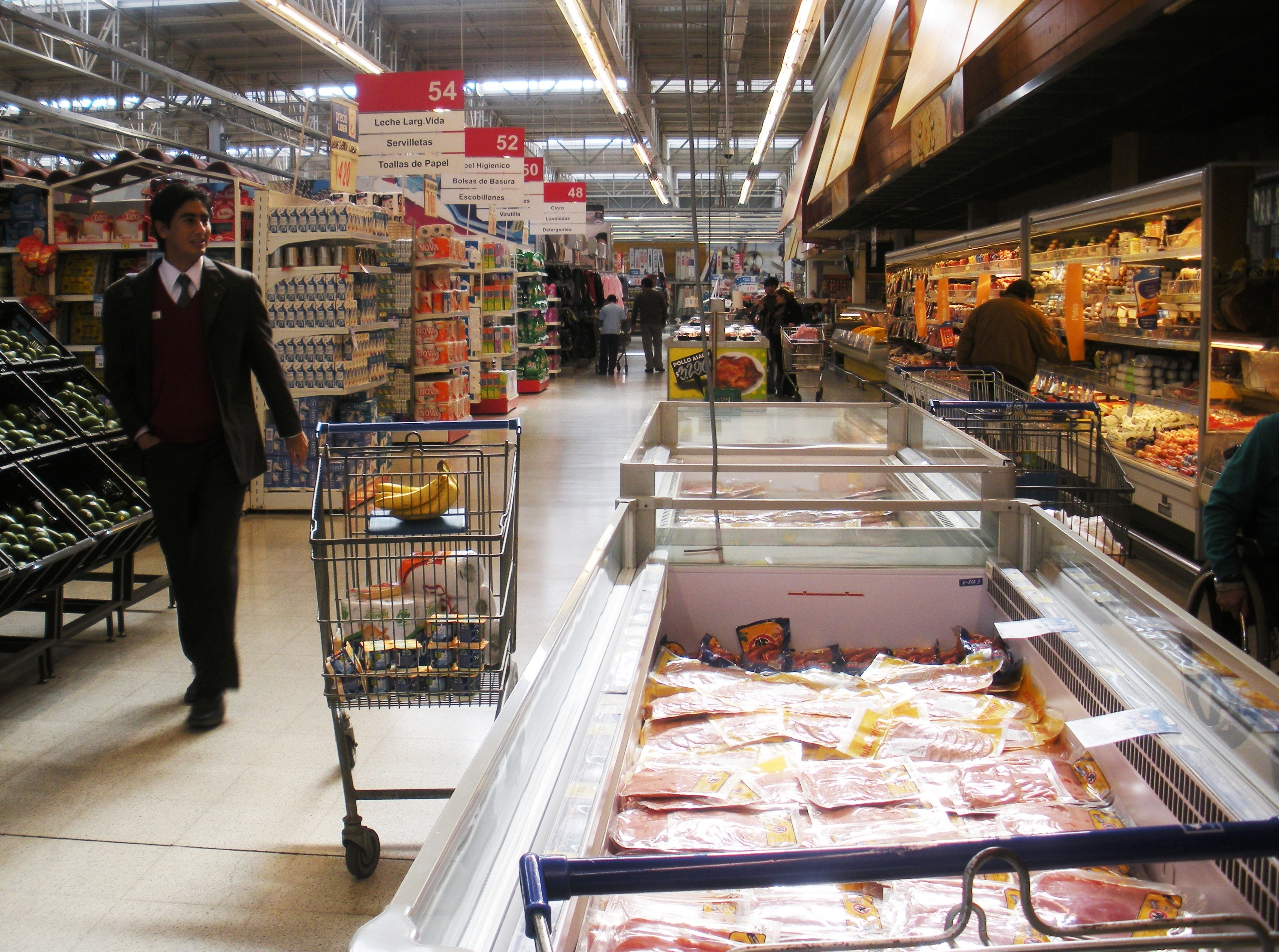 A Chilean grocery store
