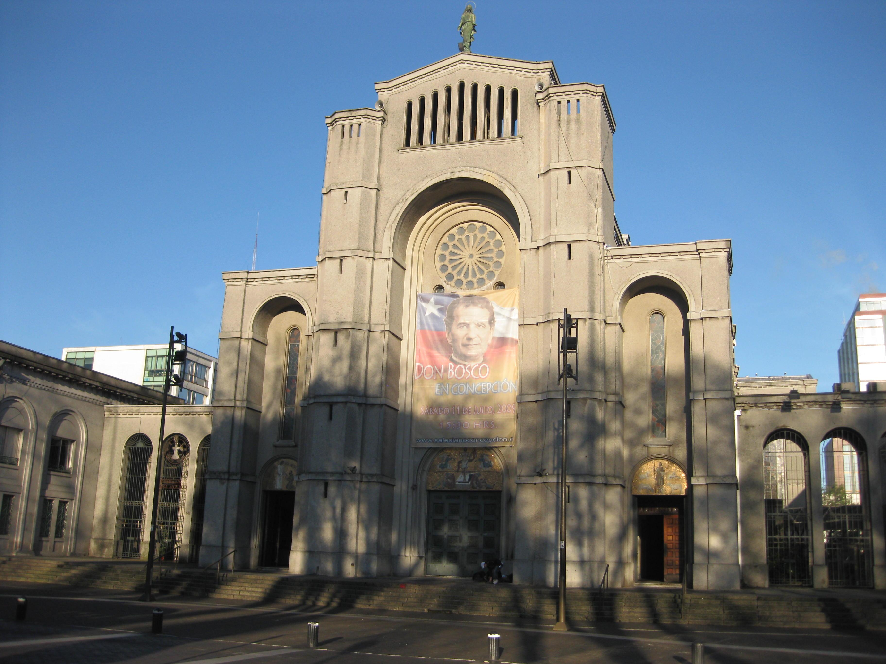 A Catholic church in Conceptión