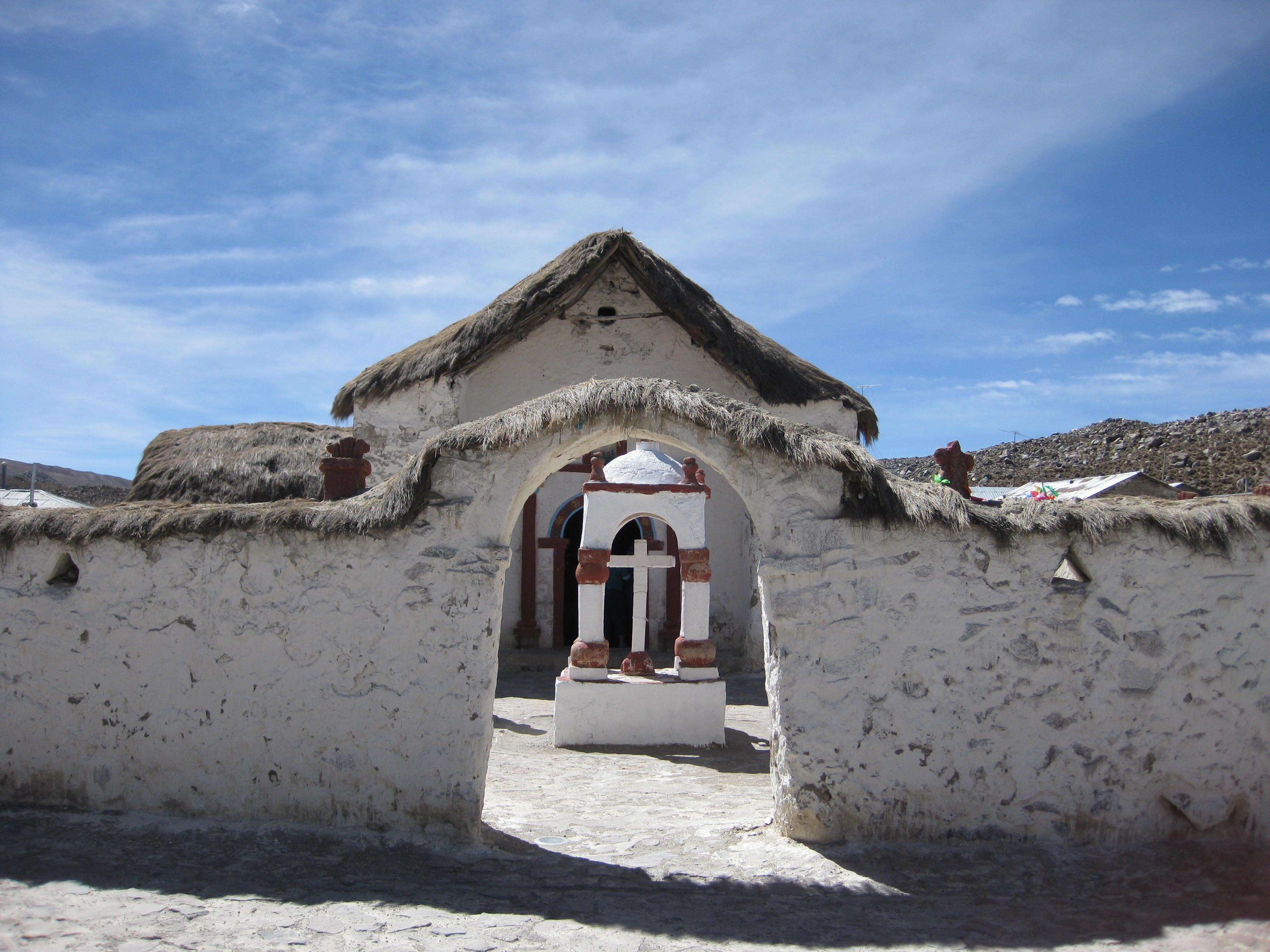 A Catholic church in Aymara
