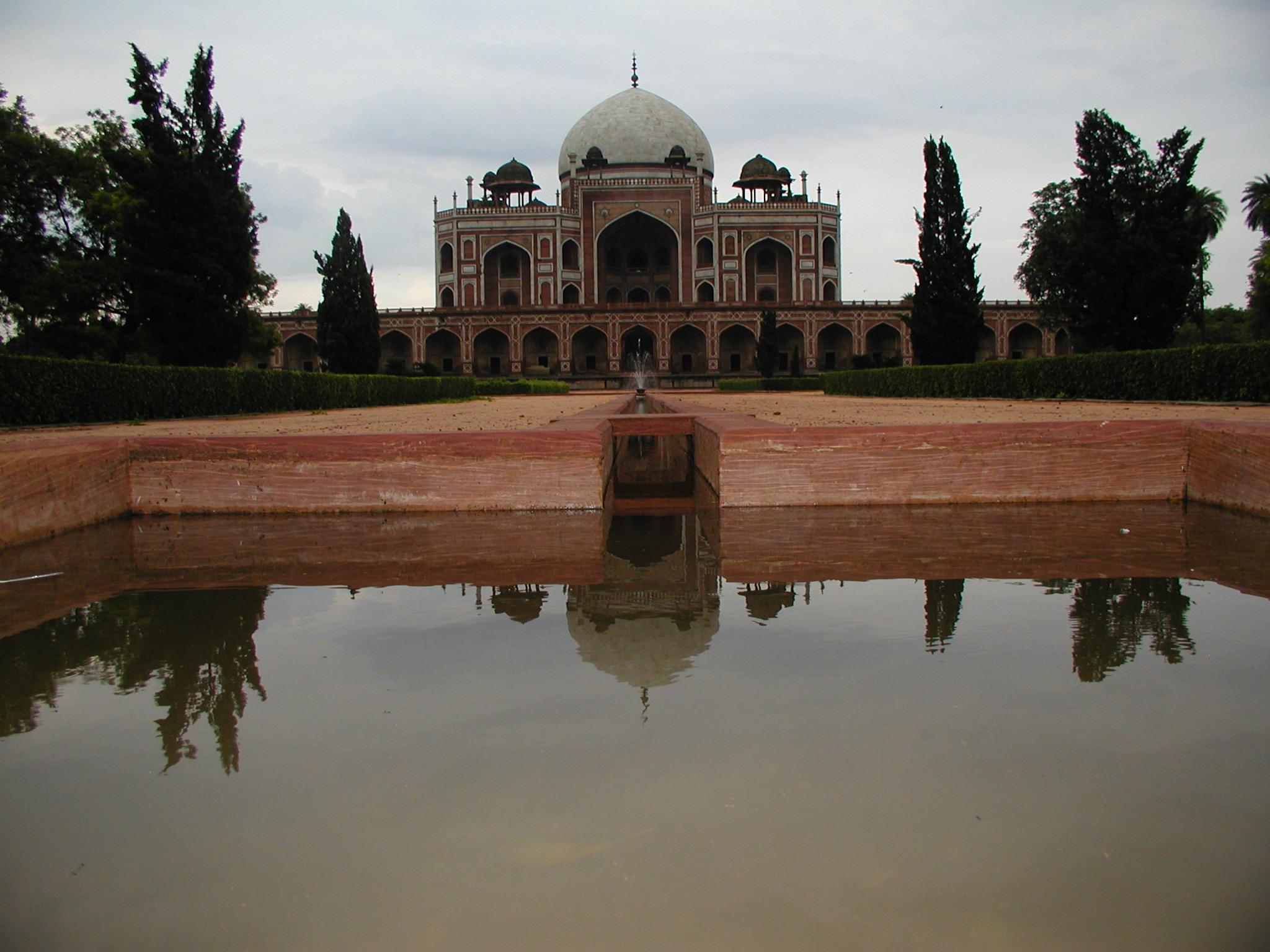 The Humayun Tomb
