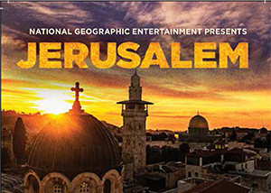 Cover Page of National Geographic's movie Jerusalem