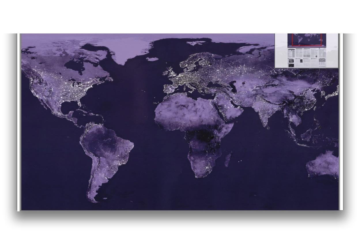 LOC World Lights Maps