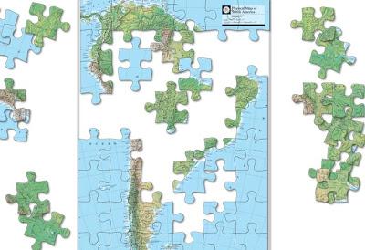 Nat Geo Atlas Puzzles