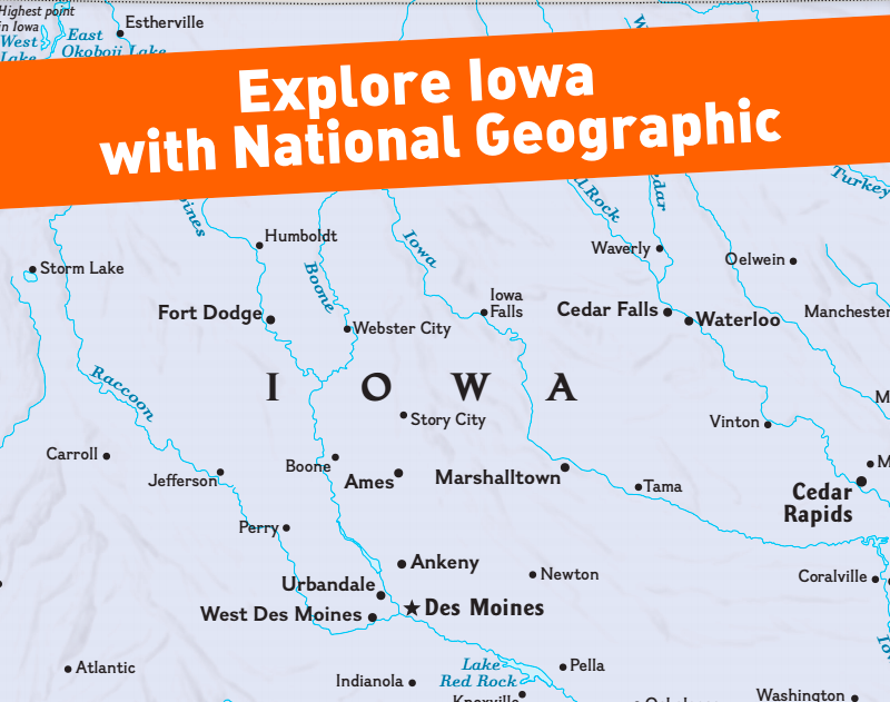 Explore Iowa with National Geographic